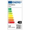 Optonica LED szalag kültéri, 5M, IP54, meleg fehér, 2700K, 14,4W/M