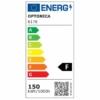 Optonica LED reflektor 150W, hideg fehér, 6000K, 12750lm, IP65
