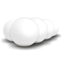 Home LED gömb, hangulatvilágítás, RGBW