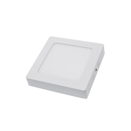 Optonica LED Panel négyzet, felület panel, 12W, hideg fehér, 840lm, 6000K