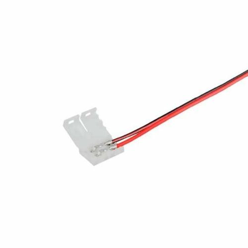 Csatlakozó LED szalagokhoz, 3528, vezetékes toldó, 2 érintkezős