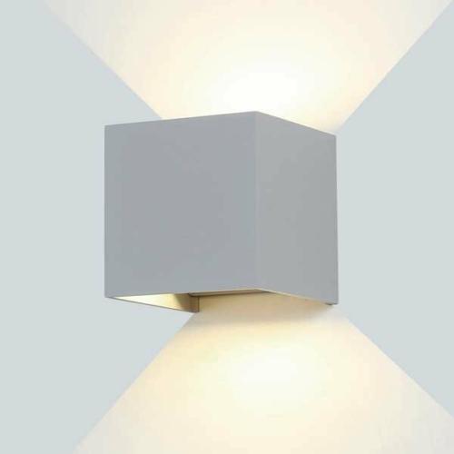 Optonica LED kültéri fali lámpa 6W, 660lm, meleg fehér, 3000K, IP54