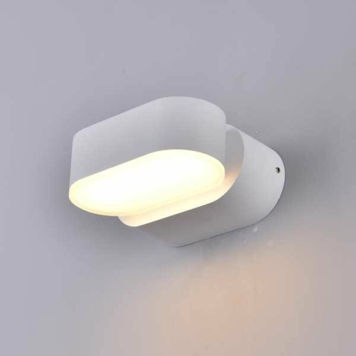 Optonica LED kültéri fali lámpa, forgatható, 6W, 660lm, nappali fehér, 4000K, IP54