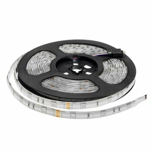 Optonica LED szalag kültéri, 5M, IP54, RGB, 7,2W/M