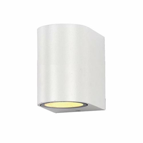 Optonica LED kültéri fali lámpa, IP44, fehér, 1xGU10