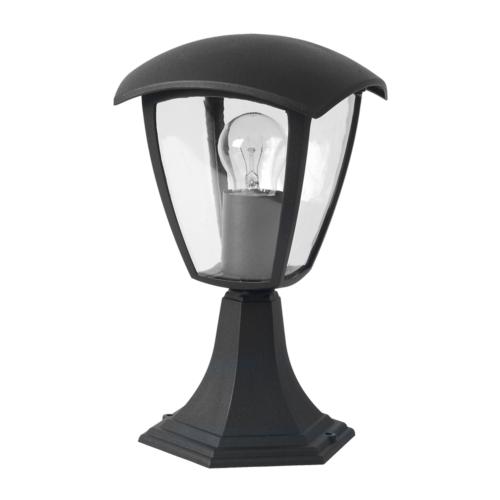 Optonica álló lámpa, kültéri, fekete, E27, IP44