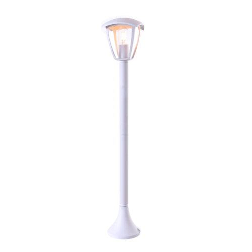 Optonica álló lámpa, kültéri, fehér, E27, IP44, 90cm