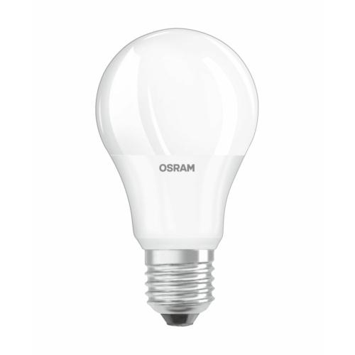 Osram LED izzó 9,5W, E27, nappali fehér, 806lm, 4000K