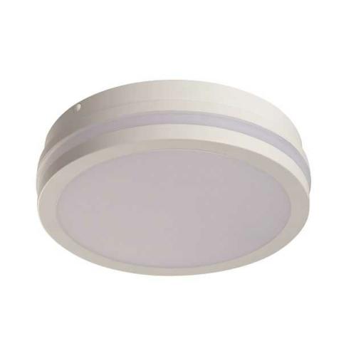Kanlux BENO LED 18W, kerek fehér, mozgásérzékelővel