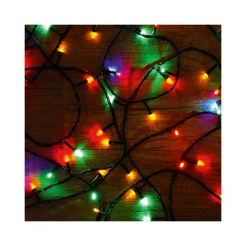 Home beltéri fényfüzér, színes, 8m
