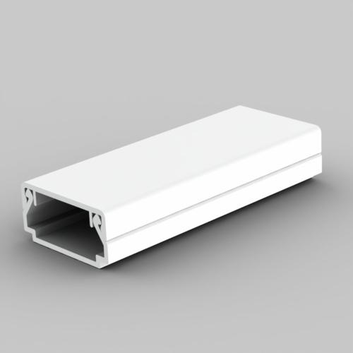 Kopos Kolin Műa csatorna 20x10, 2m, tetővel, fehér